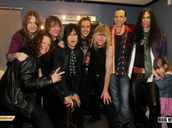 Kix backstage at M3, Baltimore - by Mark Weiss