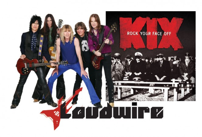 Loudwire stream of Rock Your Face off